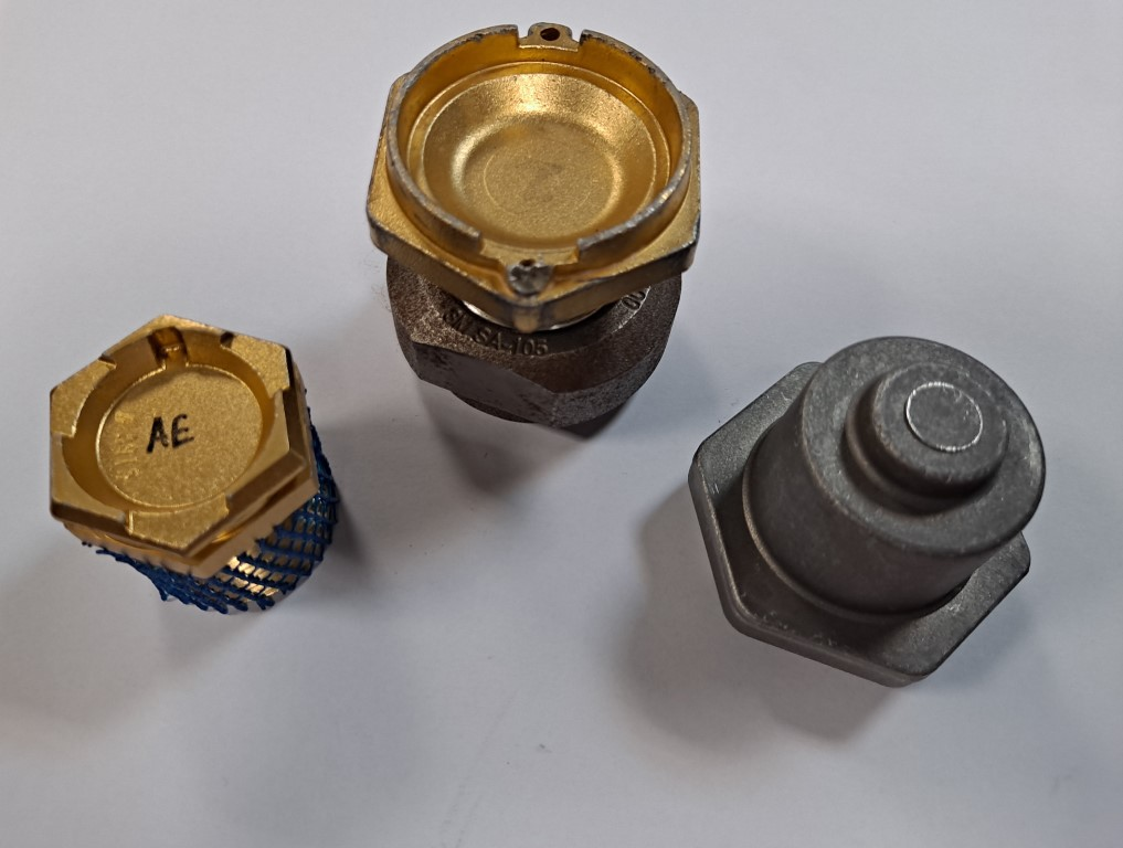 Proyecto piezas forja para medidores fluidos AESA_ROCHESTER_México