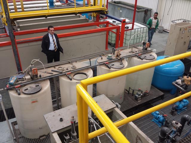 Planta Recubrimientos metálicos de AESA en FEBSA