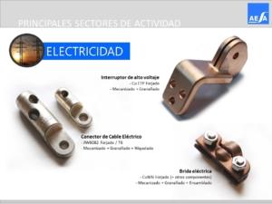 Forja piezas Electricidad AESA