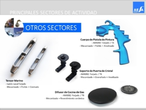 Forja piezas varios sectores AESA